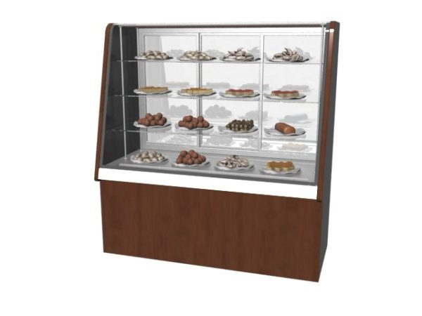 Pastry Display Cabinet Bakery Shop