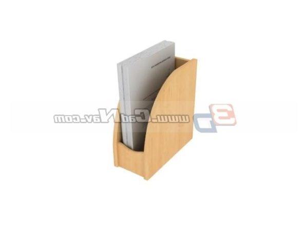 Bamboo File Holder Material de oficina