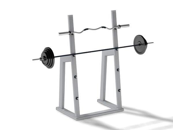 Gimnasio Barbell Squat Rack