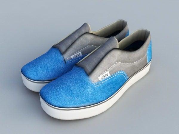 Muoti sininen pakettiautot kengät