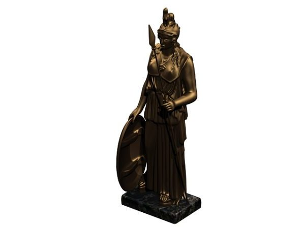 Ancient Athena Statue
