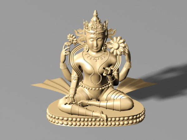 Estatua antigua budista