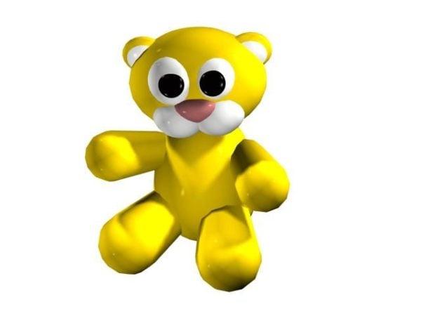 Cartoon Baby Tiger Toy