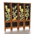 شاشات قابلة للطي الصينية الديكور