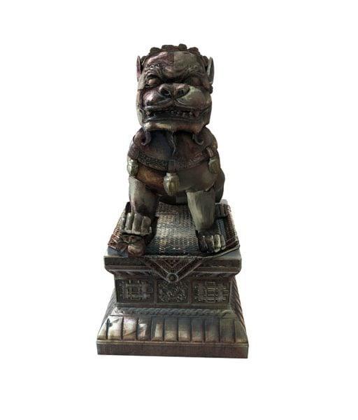 Kiinalainen leijona patsas
