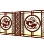 中国の家具部屋の仕切りのパネル