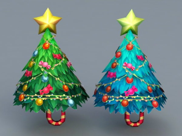 Holiday Christmas Trees Decoration