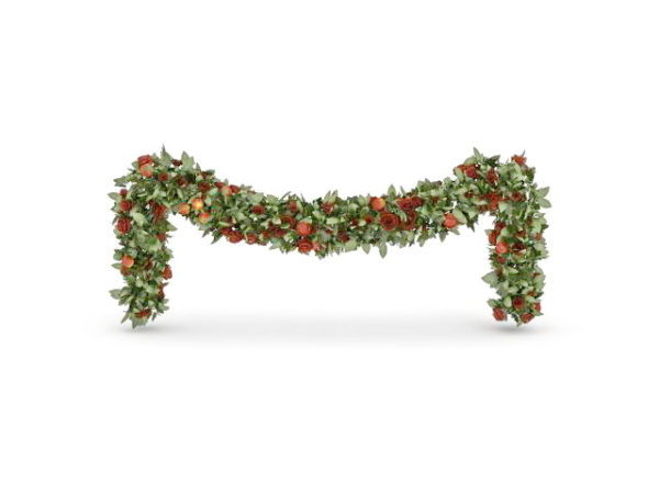 Holiday Christmas Plant Chain Decoration