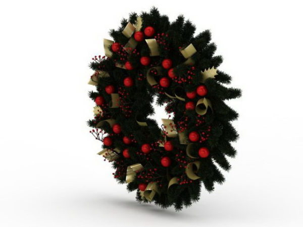 Pyöreä joulukoristekoriste