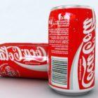 ソーダドリンクコカ・コーラ缶