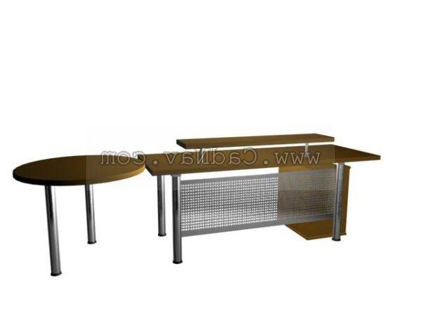 Modern Computer Desks Furniture Design Free 3d Model Max Vray Open3dmodel 210062