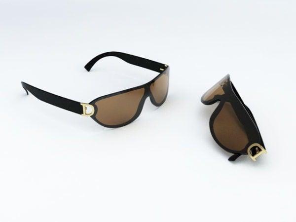 Gafas de sol frescas de moda