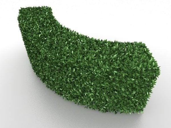 Kaarevat pensaspuutarhakasvit