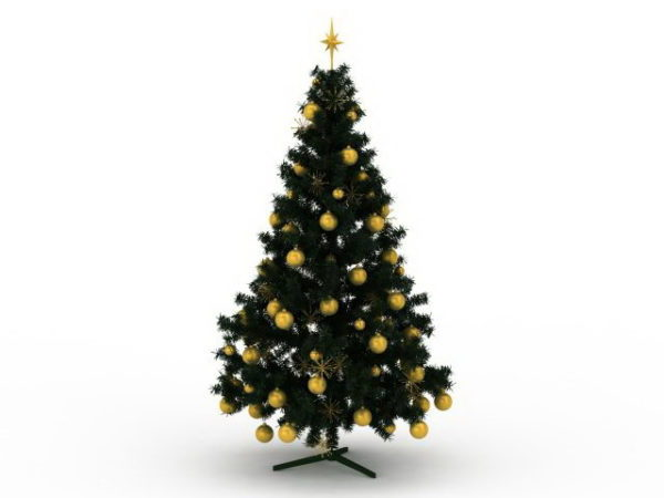 Decorative Holiday Christmas Tree