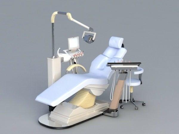 Silla dental del hospital