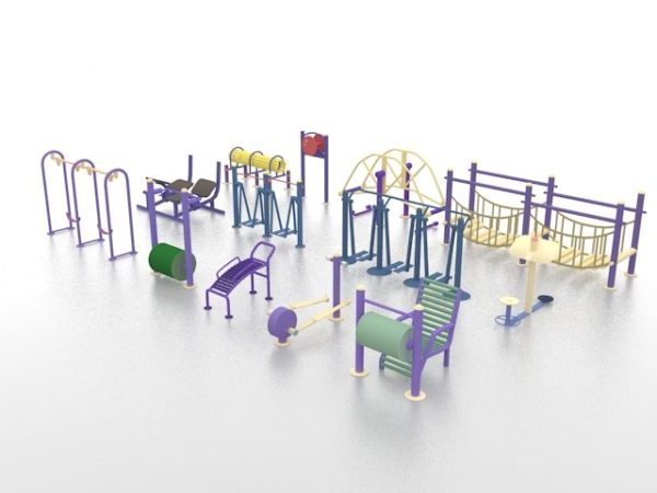 Playground Equipment Set