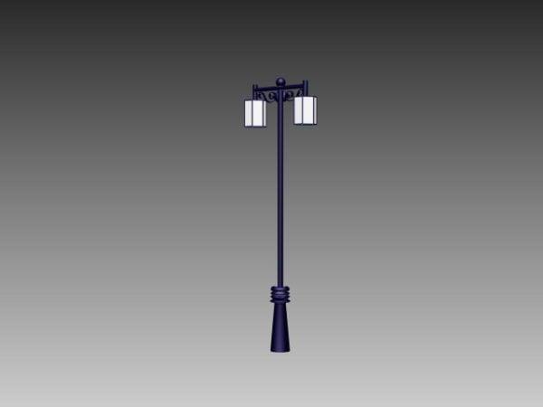 Double Head Road Lamp