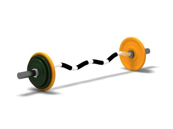 Fitness Gimnasio Ez Barbell Peso