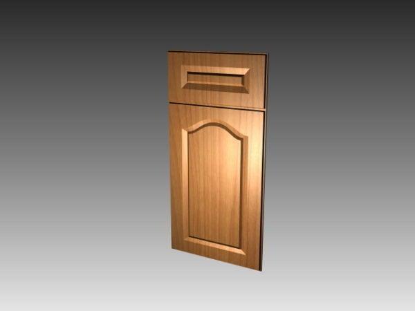 Muebles de puerta plana para gabinete de cocina