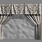 ホームフローラルカーテン