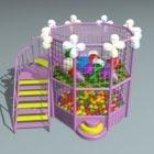 Playground Foam Ball Pit