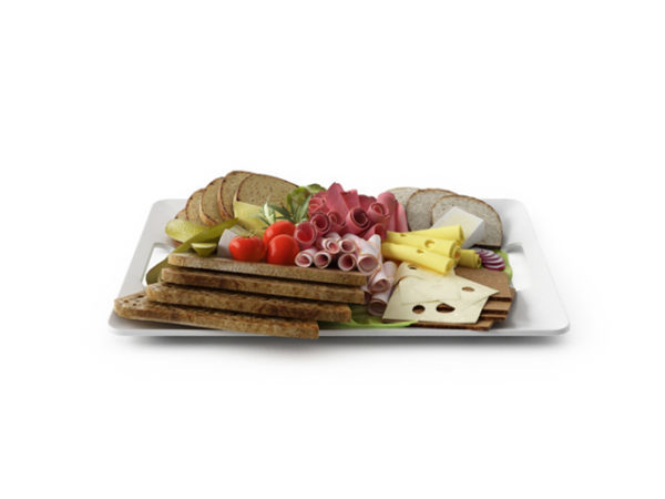 Sandwich And Food Slice Set