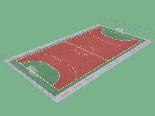 Football Pitch Court