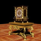 フランスの古代アンティーク時計