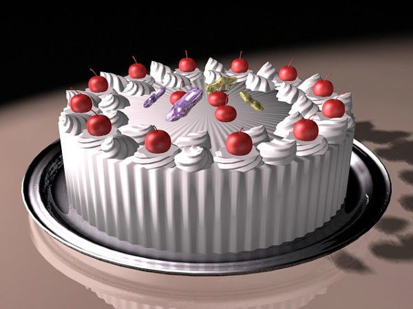 Food Fresh Fruit Cake