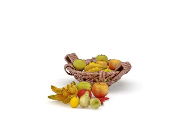 Frutas Y Verduras Canasta De Alimentos