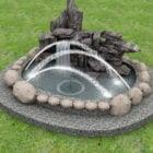 Castle Garden Rock -fontänen