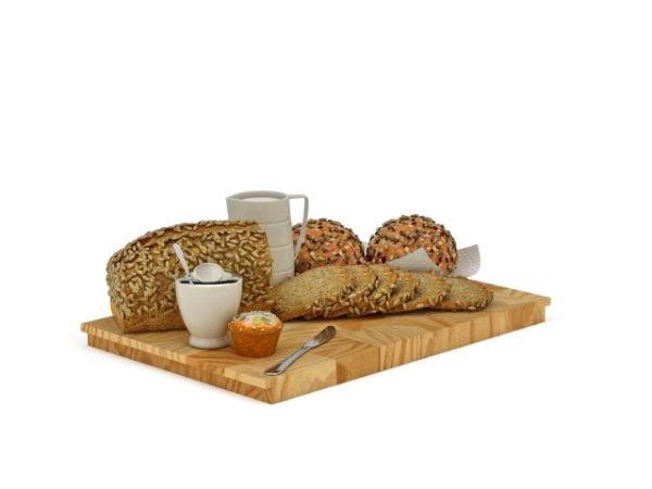 German Breakfast Breads Food
