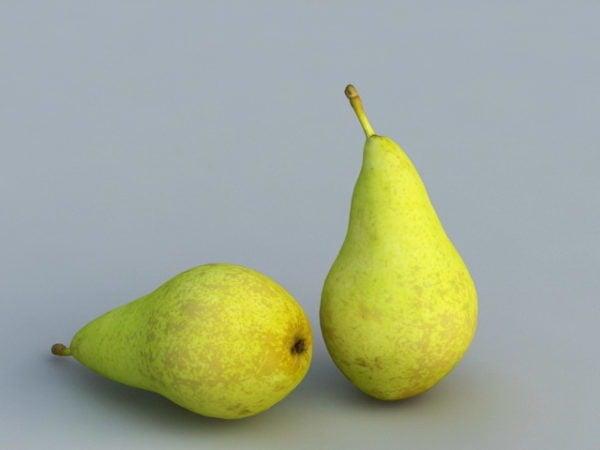 أغذية الفاكهة الكمثرى الخضراء