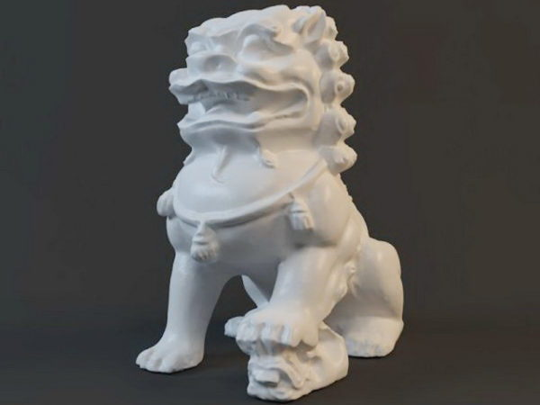 Guardian Lion antiikkipatsas