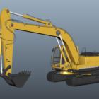 Industrieller Hydraulikbagger