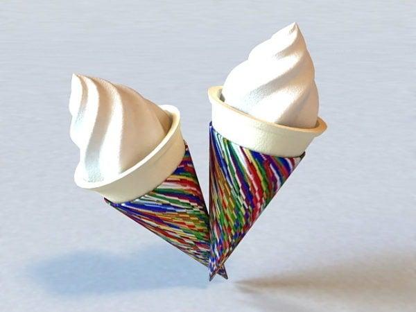 Children Ice Cream Cone