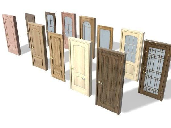 Colección de puertas interiores de muebles