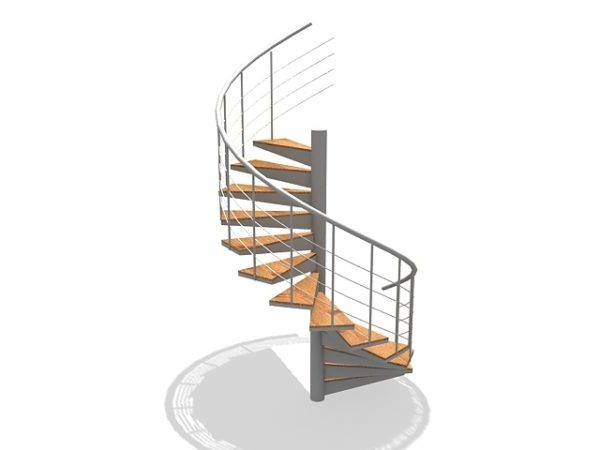 Interior Spiral Stair Design Free 3d Model Max Vray Open3dmodel 204727
