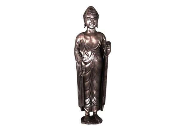 Antigua estatua de Buda japonés