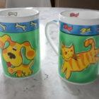 Kitty Doggy Cups dekoration