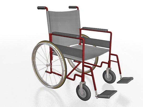 Silla de ruedas ligera de hospital