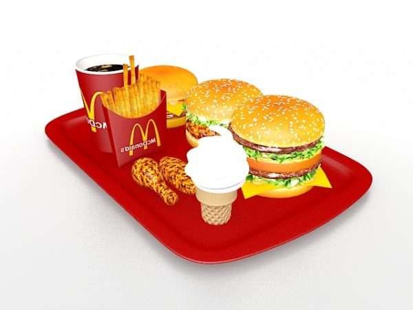 Mcdonalds Meal Set