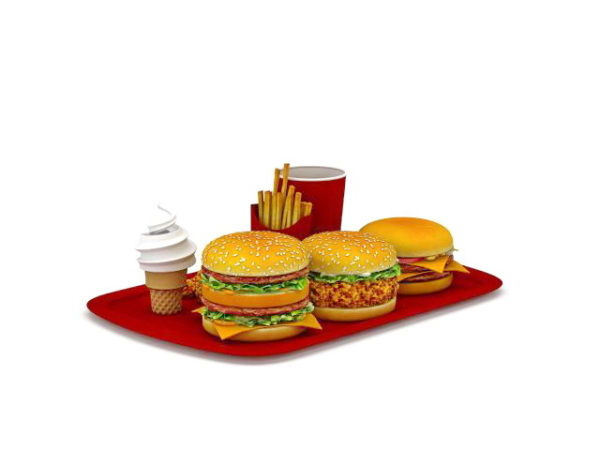 Mc Donalds Dinner Pack