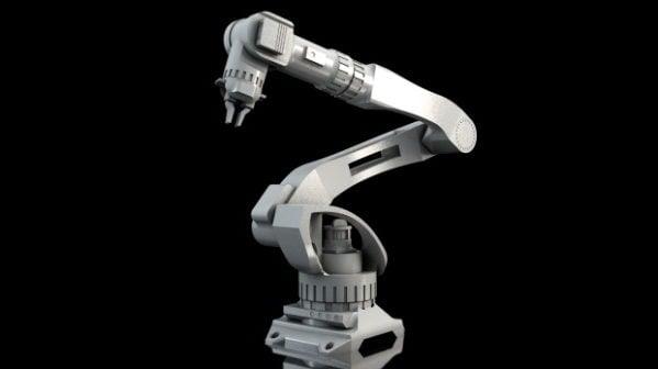 産業用機械式ロボットアーム