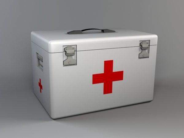 Caja de medicina hospitalaria