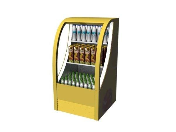 Supermarket Standing Display Freezer