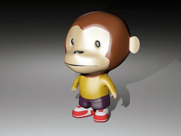 Toy Monkey Piggy Bank