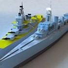 Military Naval Warship
