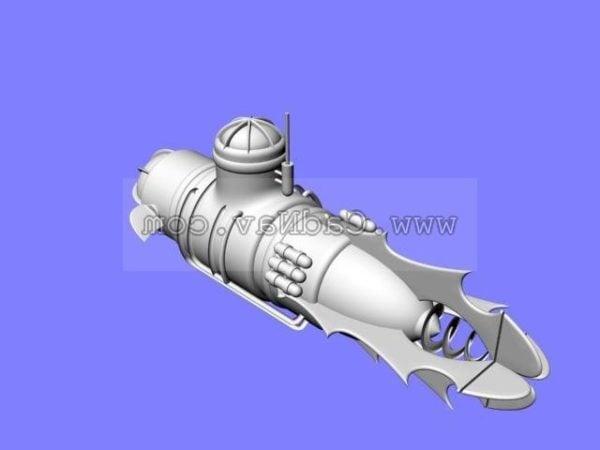 Military Nuclear Submarine