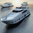 Moderne Ocean Yachts Boat
